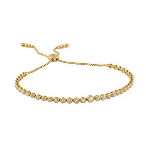 Tassel Tennis Graduating Bracelet Small