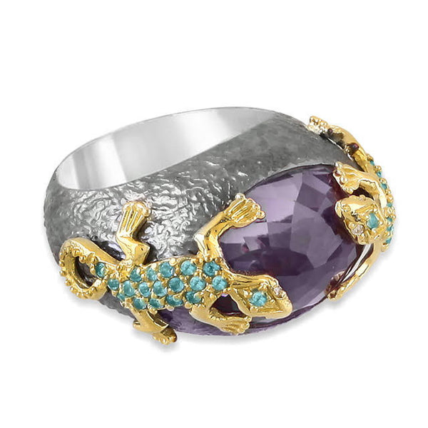 Beauty and the Beasts Lizard Ring
