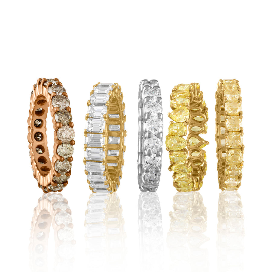 Mixed Shape Eternity Bands