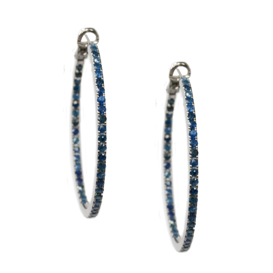 Mary 2mm Hoops
