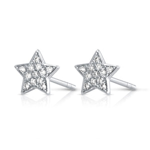 Star Day-Night Bar Earrings