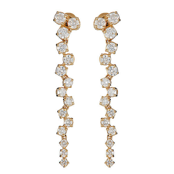 Icicle Long Drop Earrings