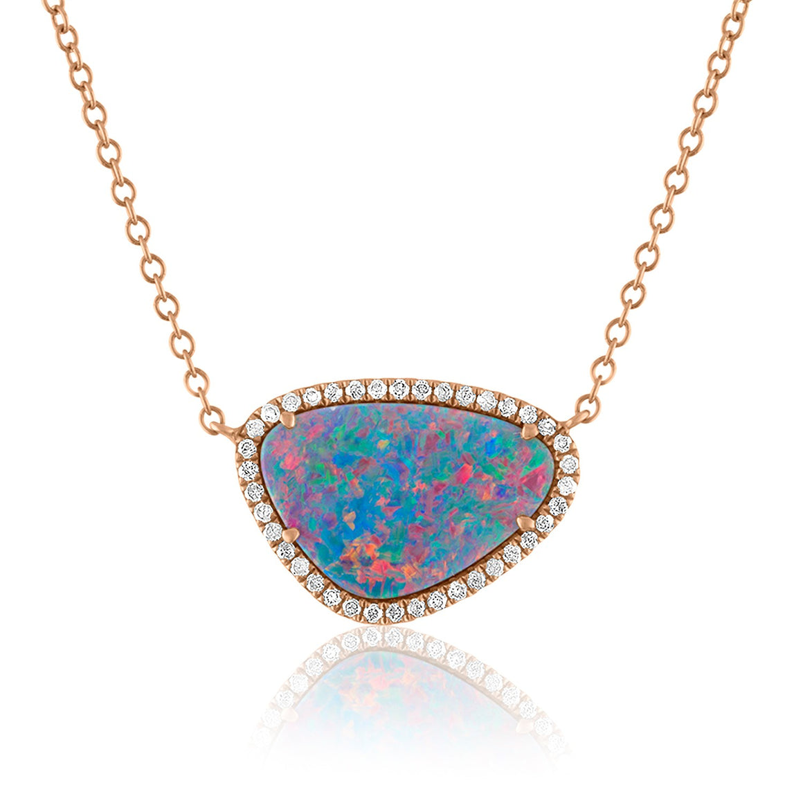Organic Opal Necklace
