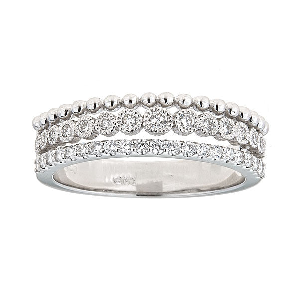 Icicle Triple Band Ring