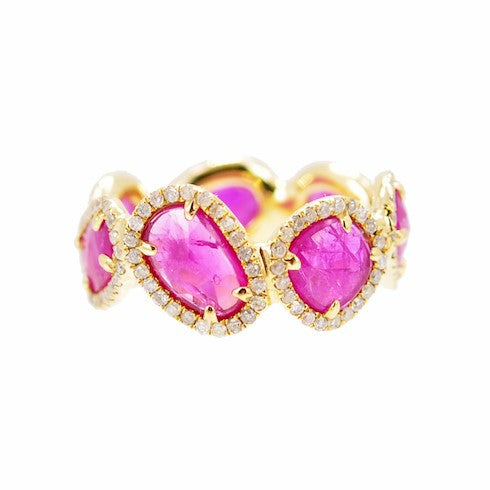 Rosecut Ruby Band