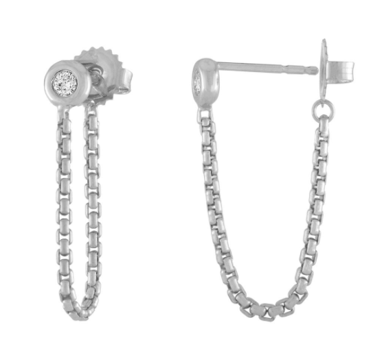 Shortcut Chain Earrings