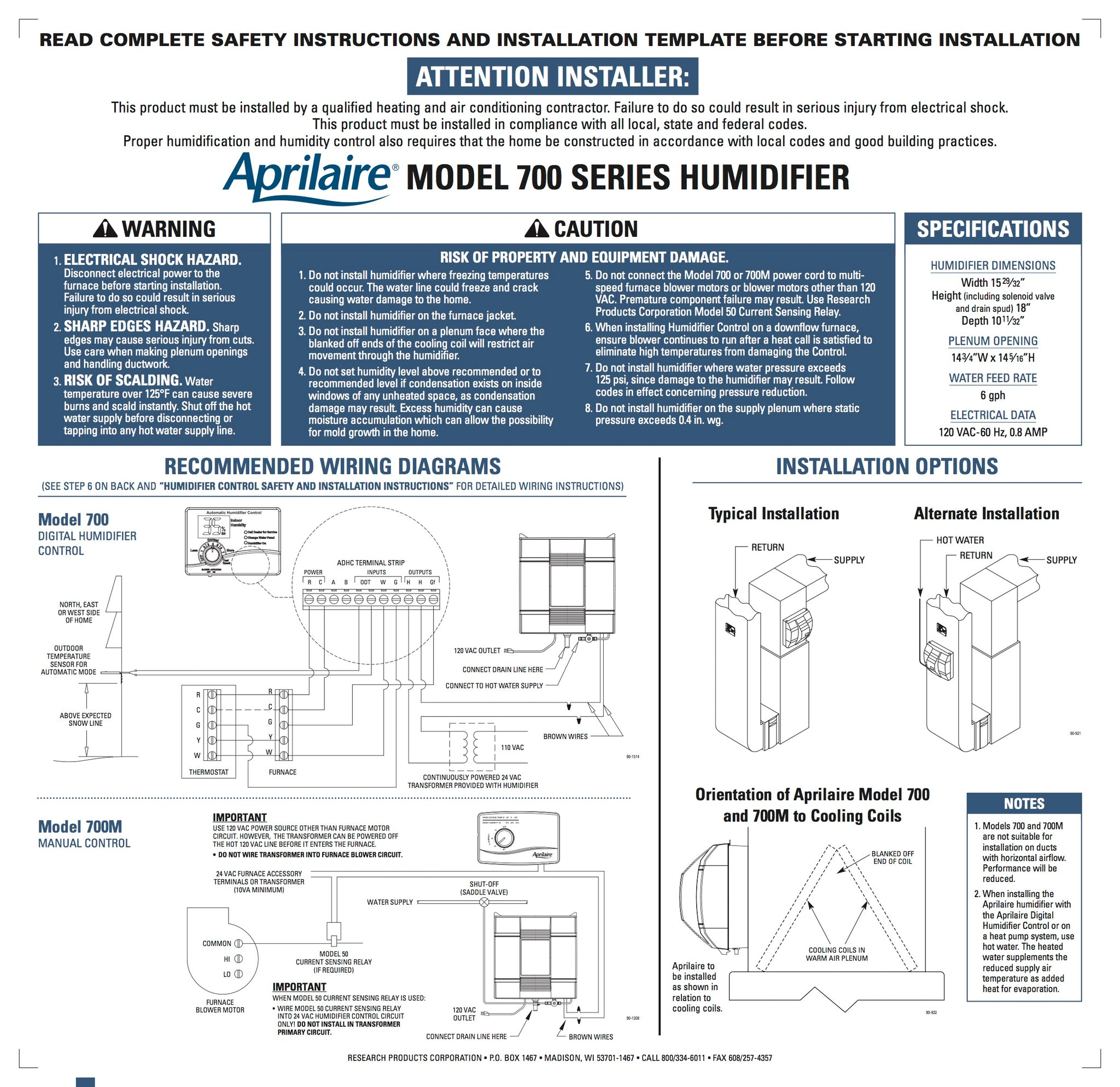 aprilaire humidifier 700 wiring diagram   39 wiring