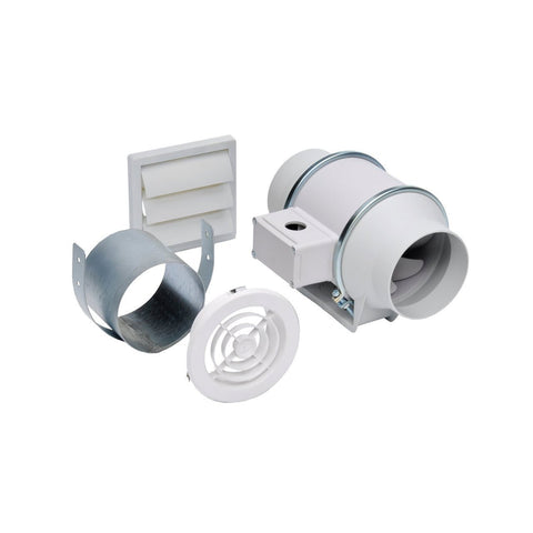 Soler & Palau KIT-TD150 In-line Exhaust Fan Kit - NY Fashion Center Fabrics