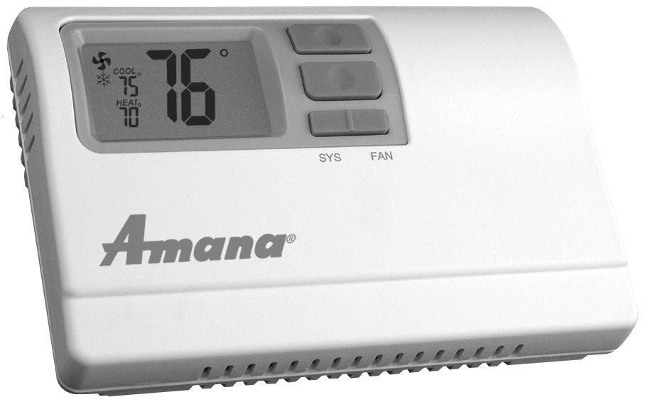 hvac amana the best prices for home and garden 44 20 more details · amana thermostat 2246007 2h 1c auto or manual changeover