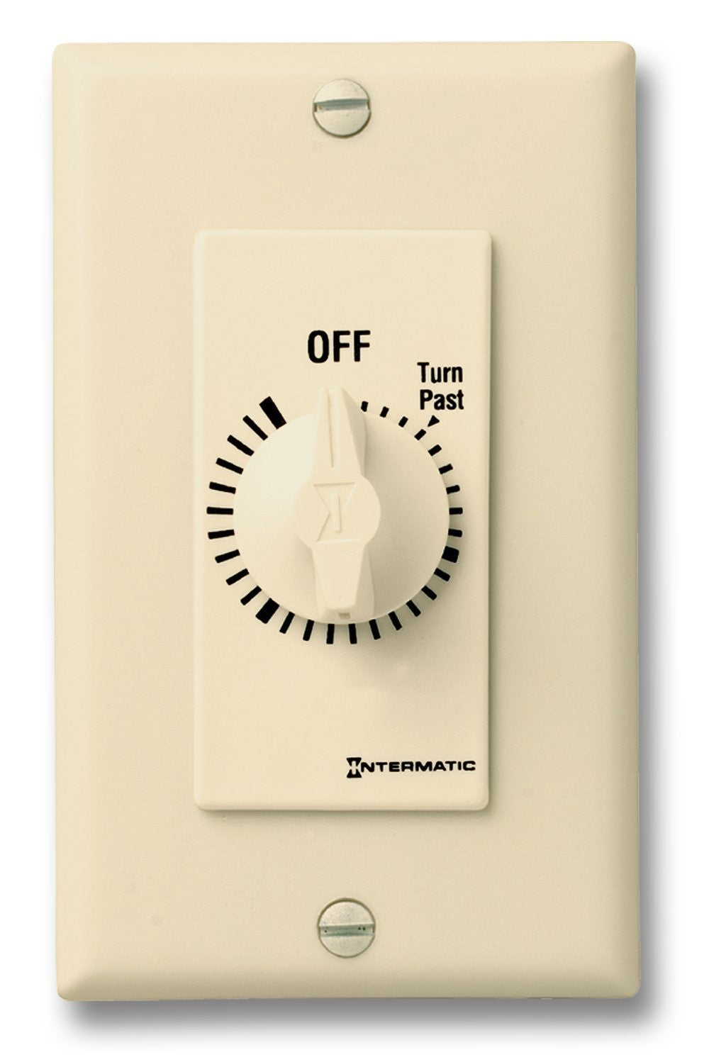 Intermatic Fd6hh 6 Hour Spring Loaded Wall Timer