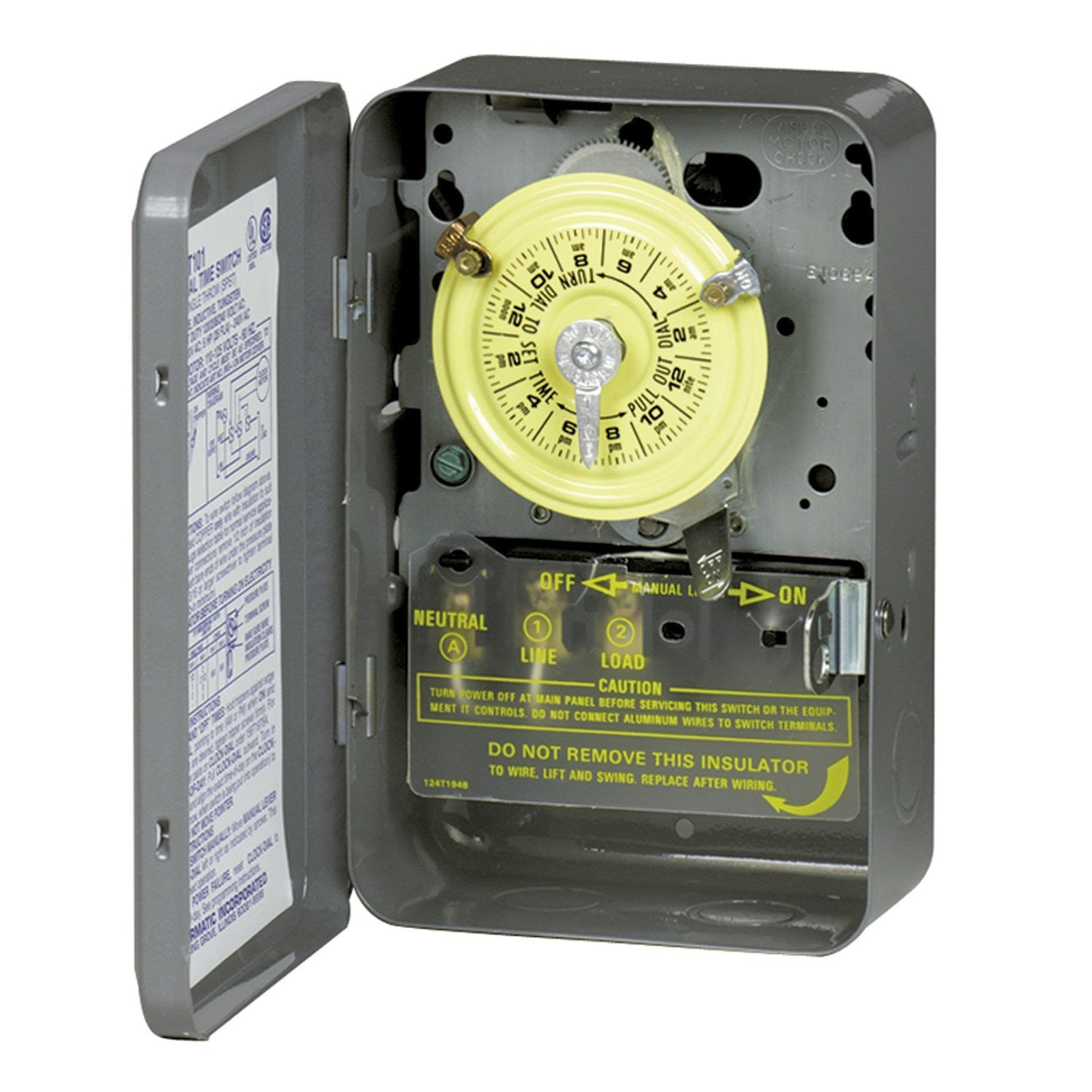 Intermatic T104 208-277 Volt DPST 24 Hour Mechanical Time Switch - Fasco W6  Draft I8  Google Sites
