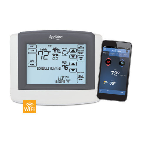 Aprilaire 8620W Touchscreen Multi-Stage Thermostat National Equipment Parts