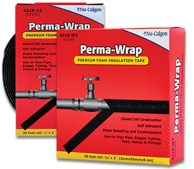 Nu-Calgon 4218-W3 Perma-Wrap 2 inch x 1/8 inch x 30 foot Roll - NY Fashion Center Fabrics