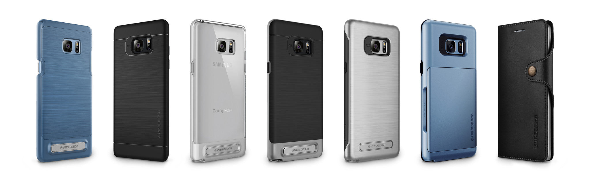 VRS Design uncovers their latest lineup for the Note 7 release