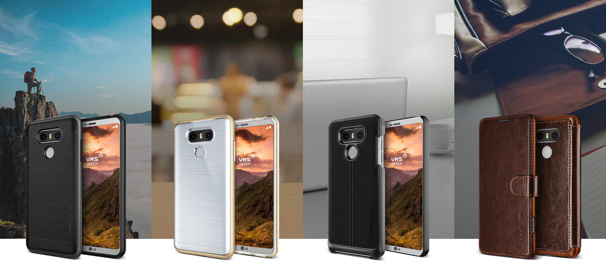 Complement Your Daily Look: Sleek & Slim LG G6 Cases from VRS Design