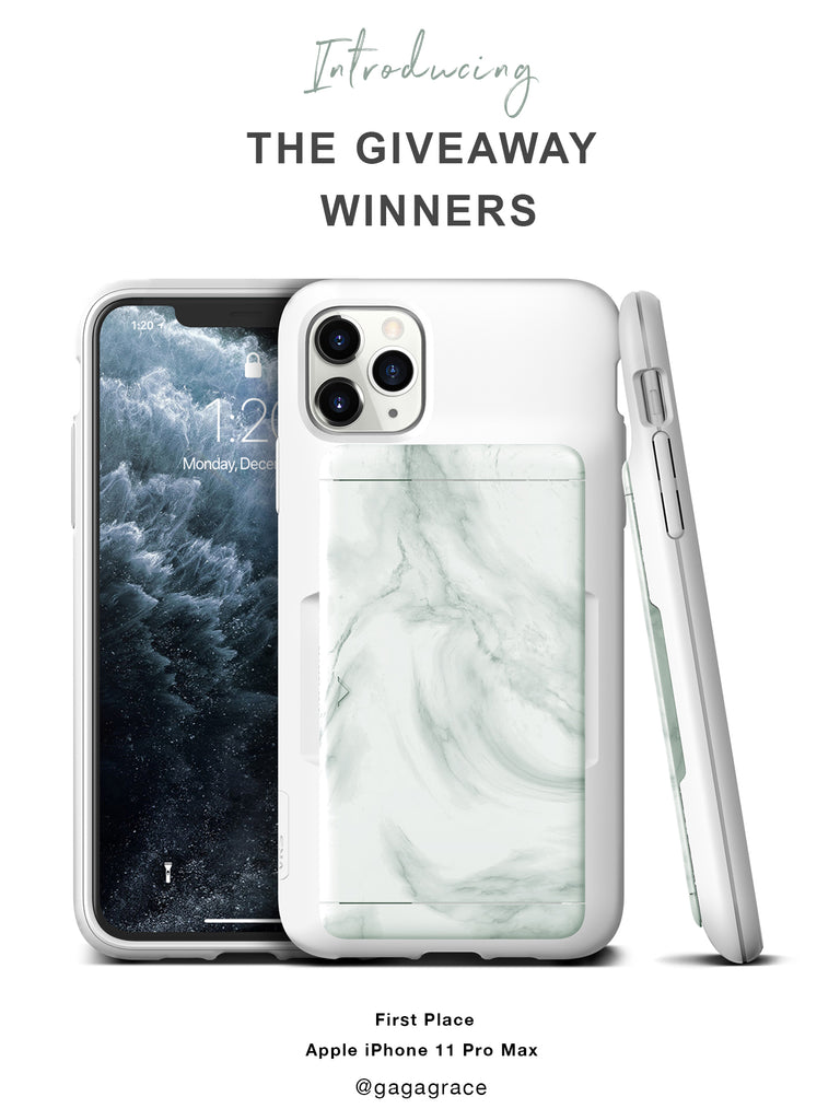 Best Free Apple iPhone 11 Pro Max Giveaway Winner from VRS Design