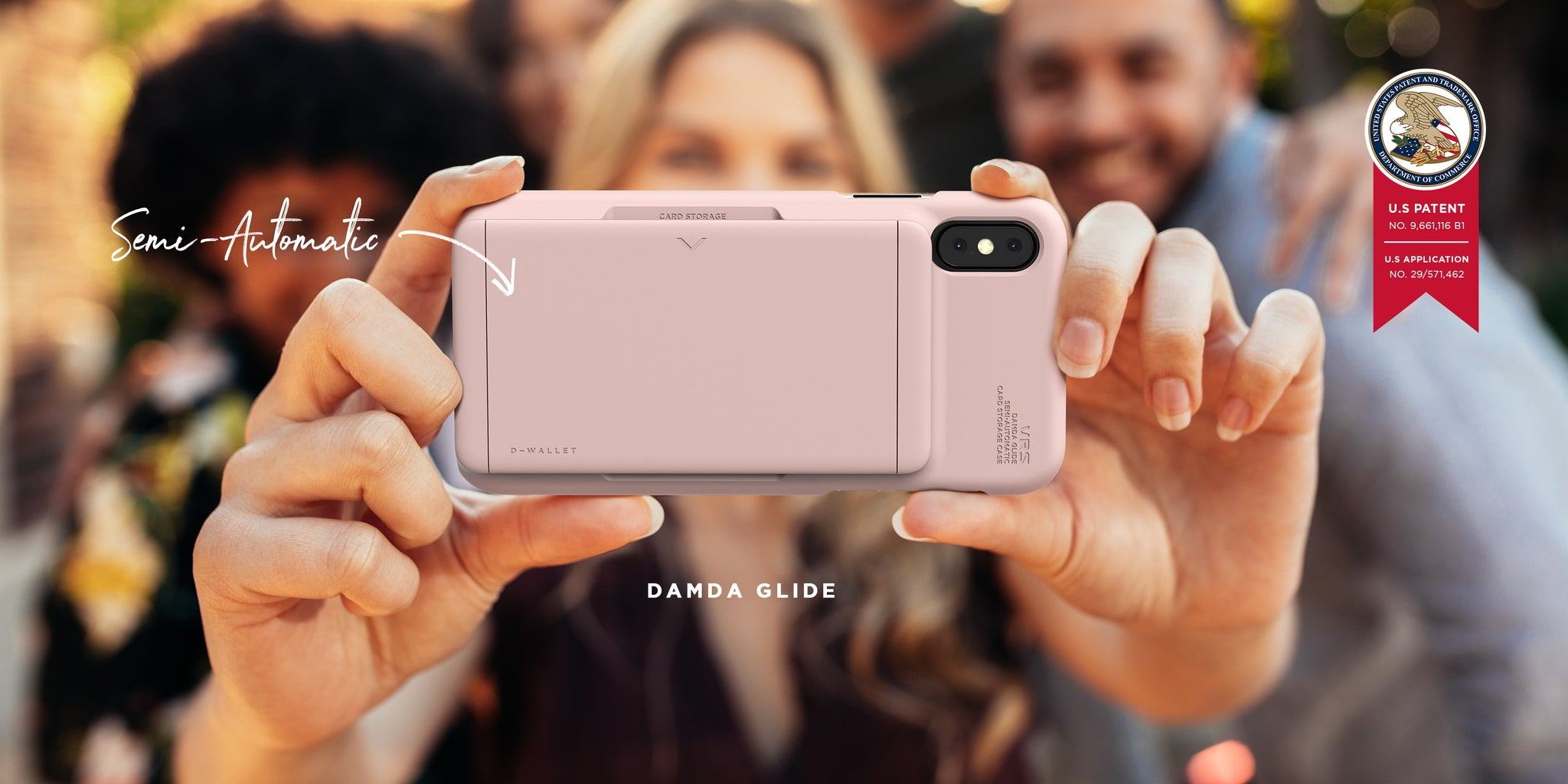 VRS Design | The Best iPhone Xs Wallet Case Series - New Damda Glide