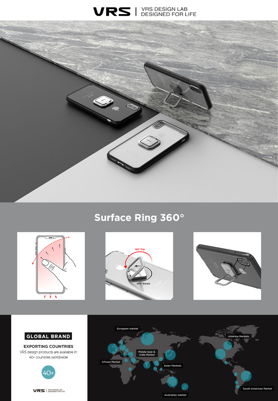 Surface Ring 360° from VRS Design