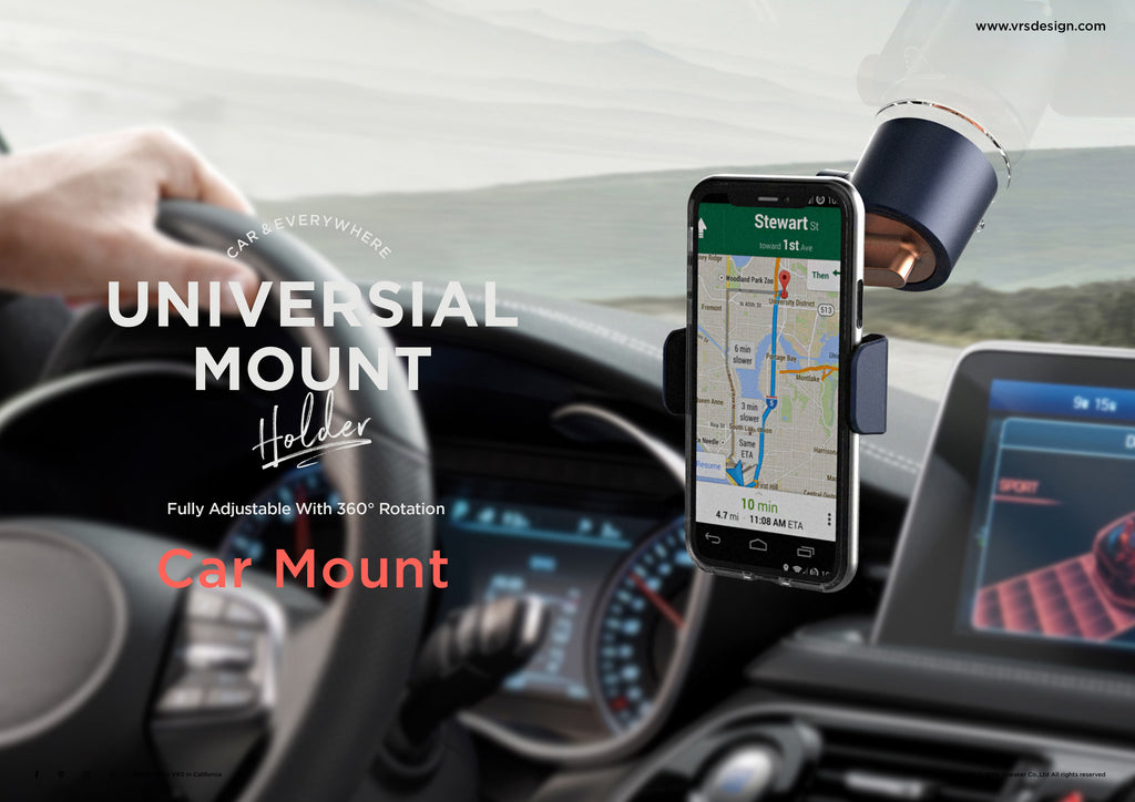 Safe Driving Universal car mount by VRS Design