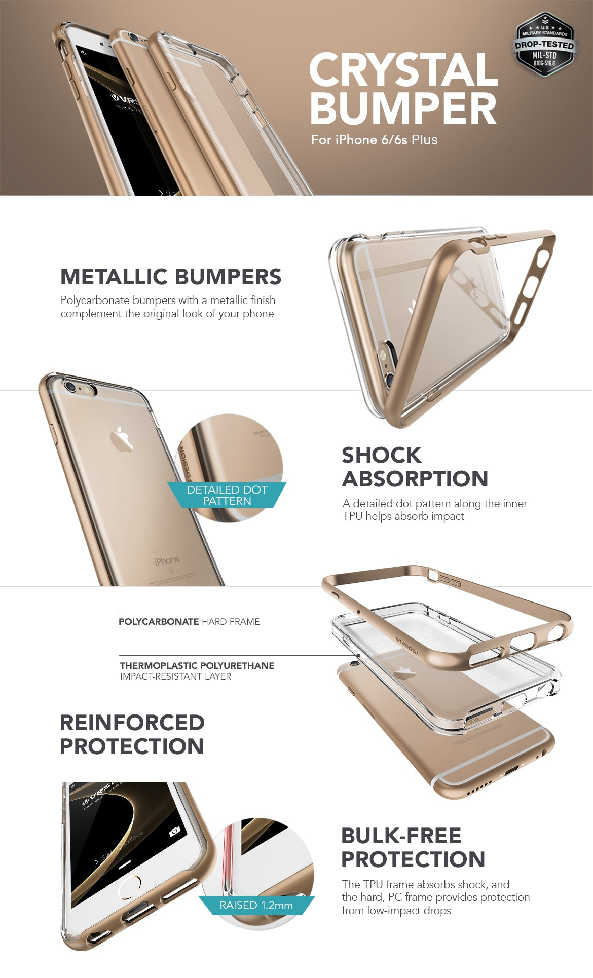 iPhone 6/6s Plus_Crystal Bumper