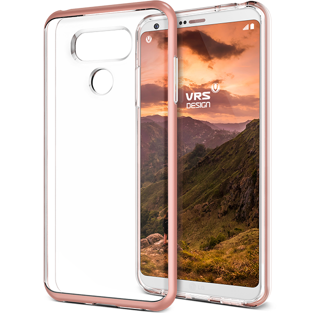 VRS Design LG G6 Case Crystal Bumper Series Case