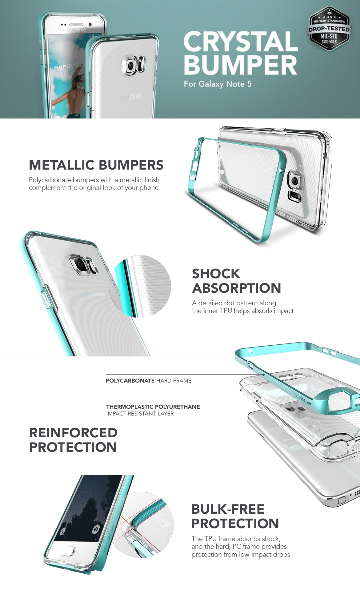 Galaxy Note 5_Crystal Bumper