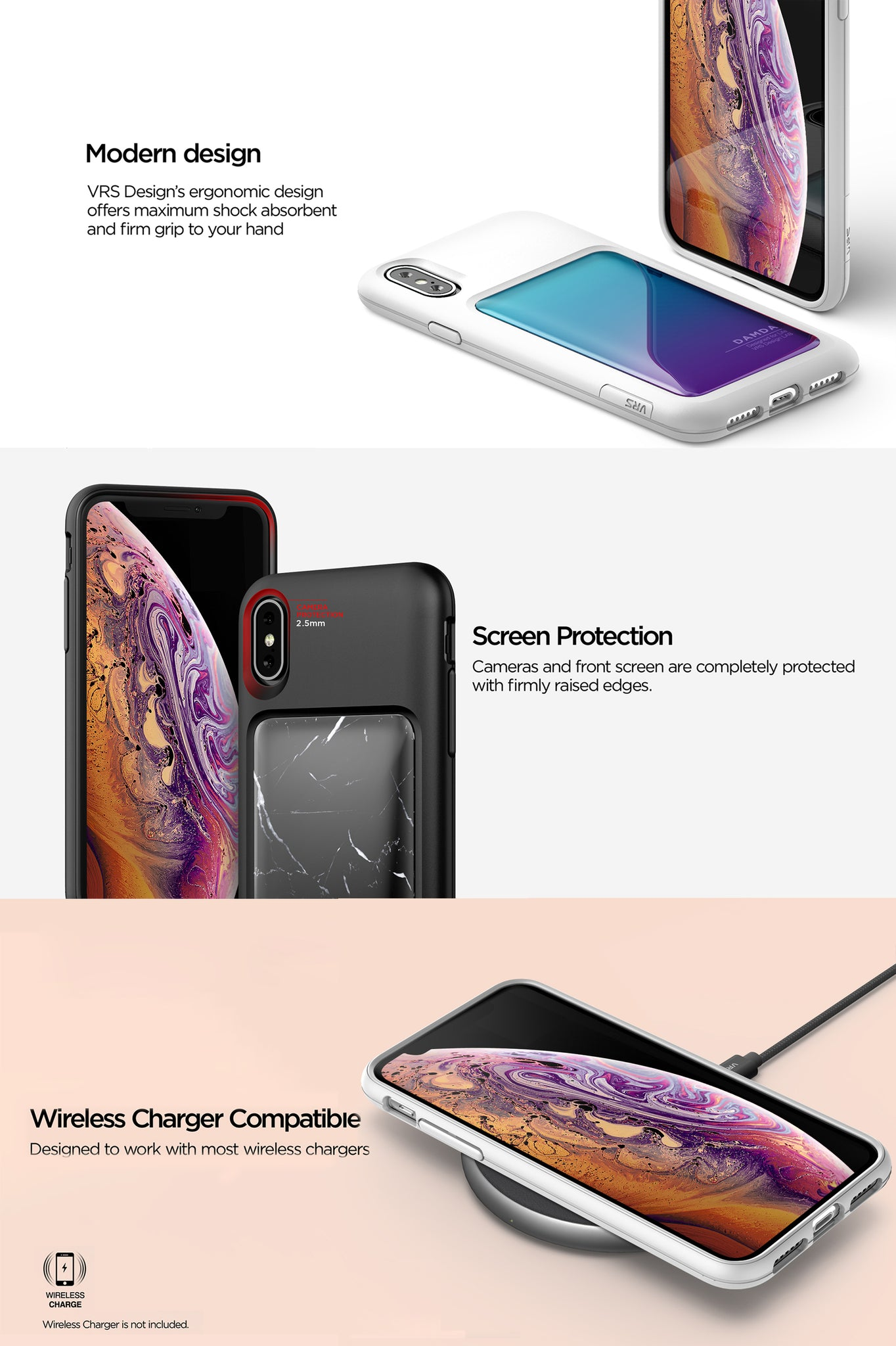 VRS Design | The Best Protection Case for iPhone X/ Xs - Damda High Pro Shield