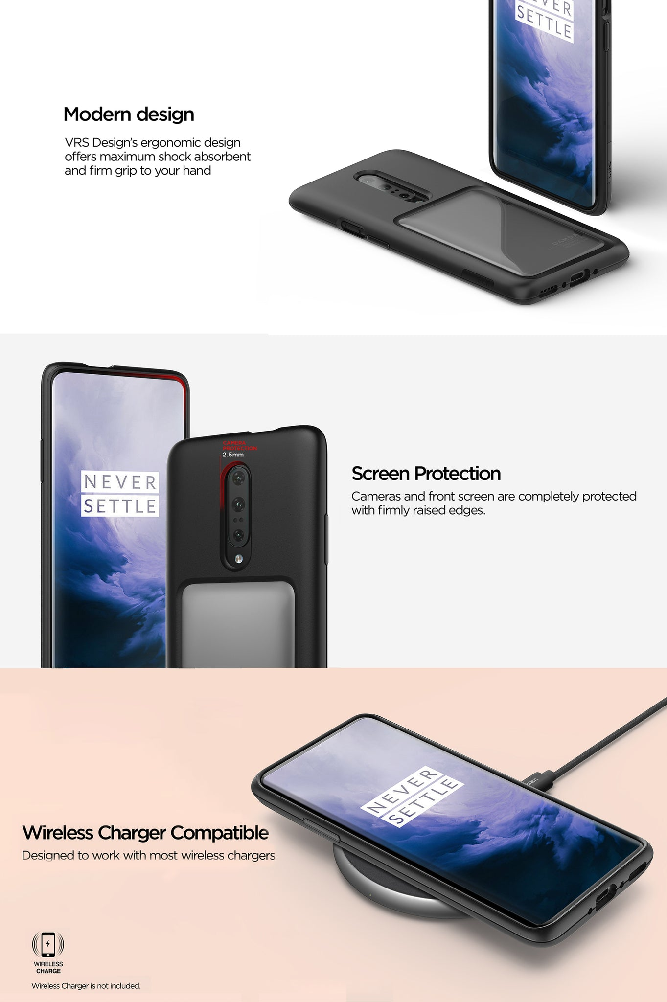 VRS Design | The Best Case for OnePlus 7 Pro - Damda High Pro Shield