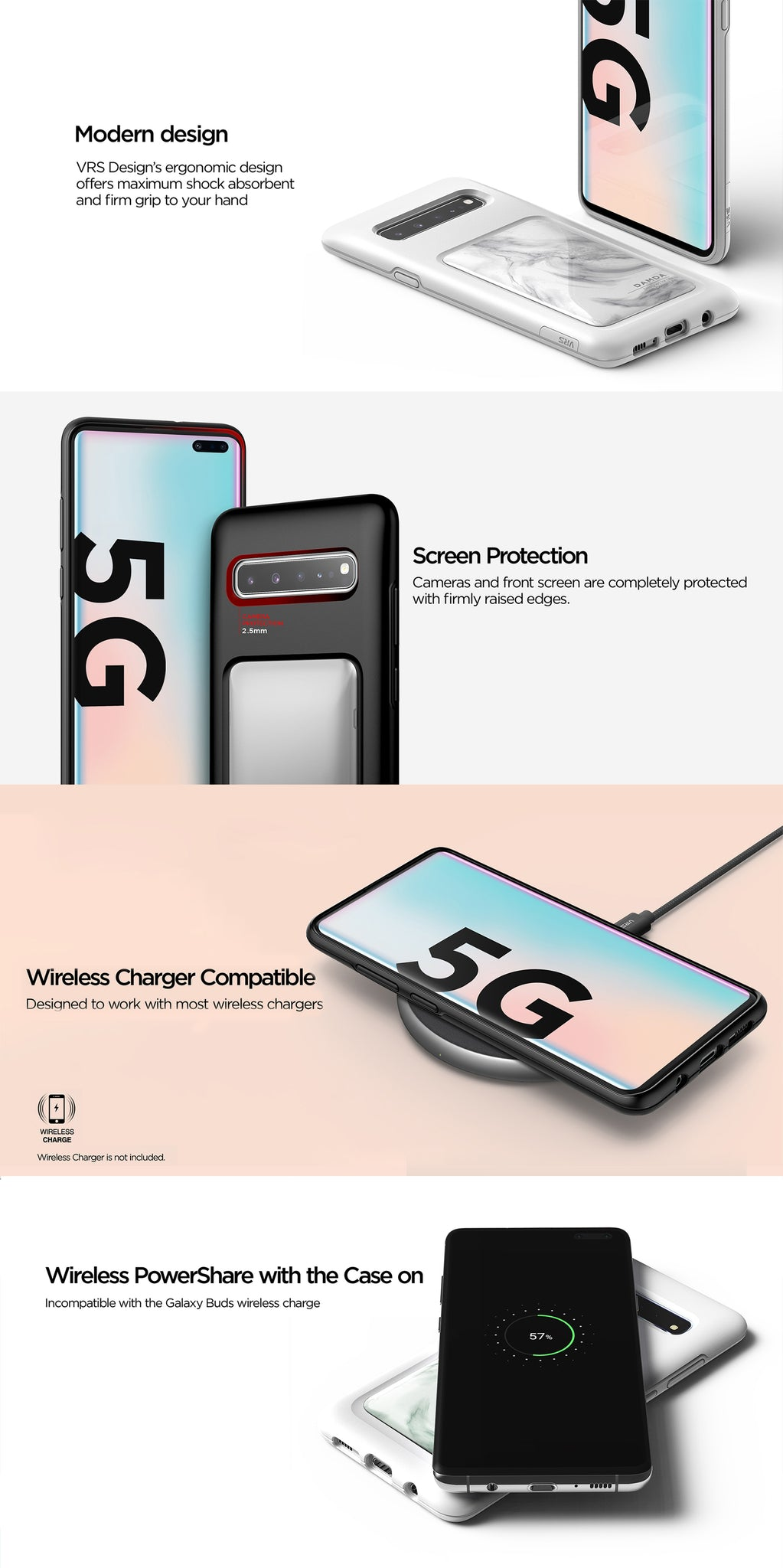 VRS Design | The Best Protection Case for Galaxy S10 5G - Damda High Pro Shield