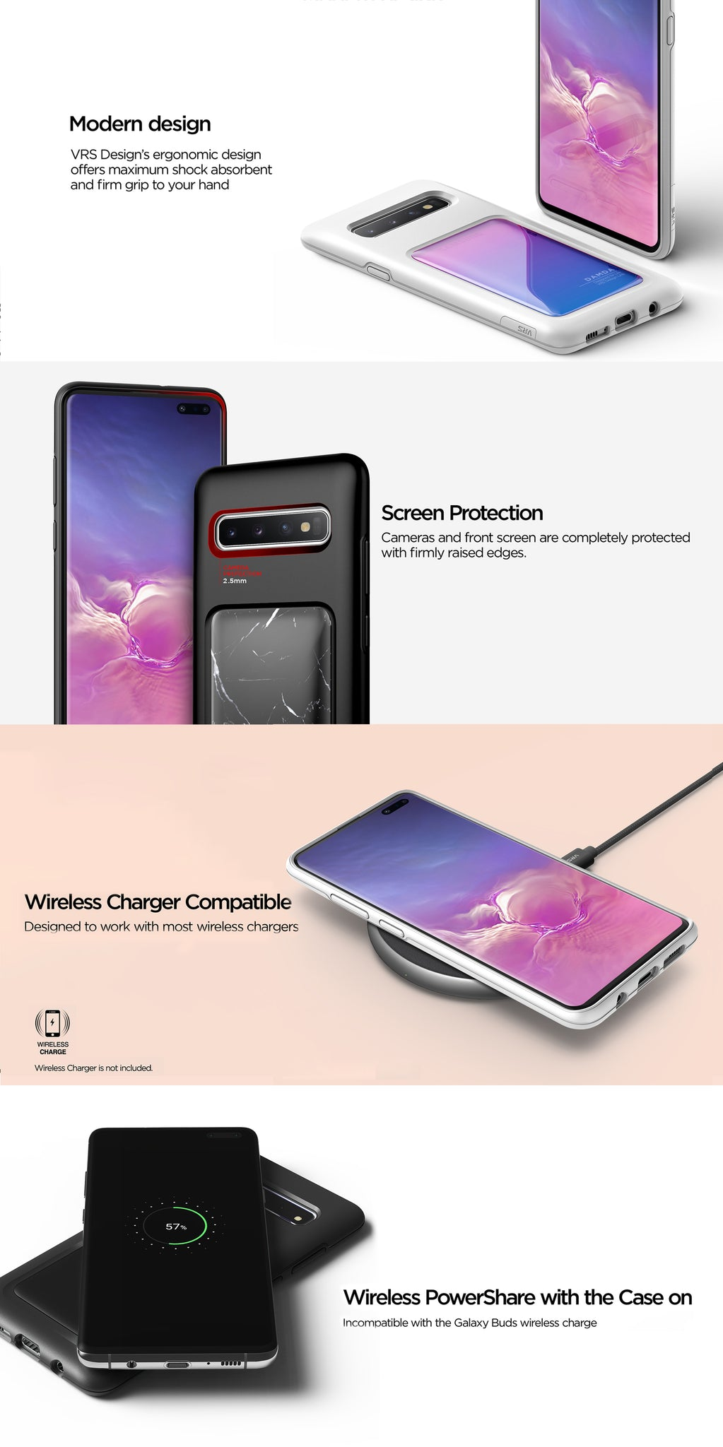 VRS Design | The Best Protection Case for Galaxy S10 - Damda High Pro Shield
