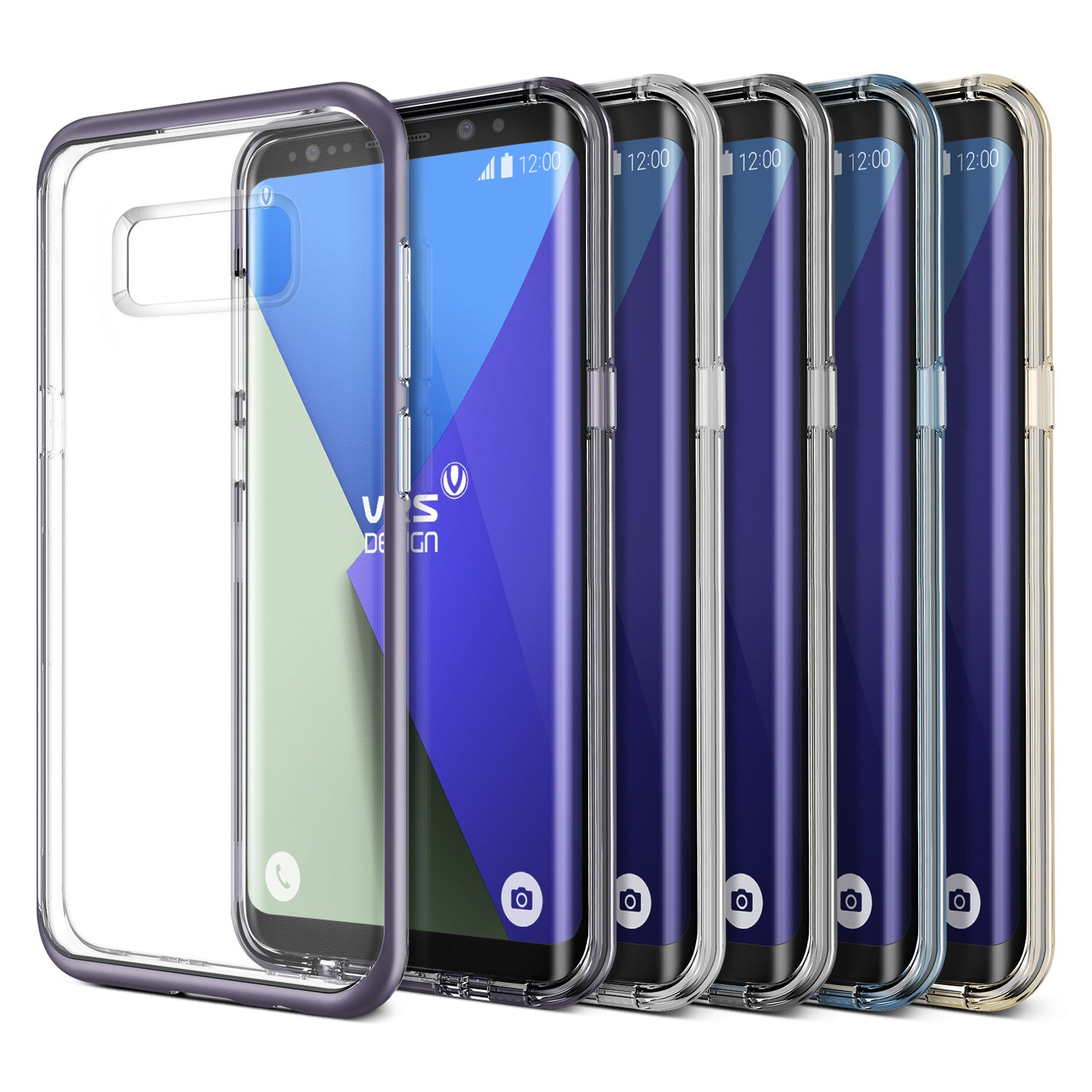 Crystal Bumper Galaxy S8 case from VRS Design