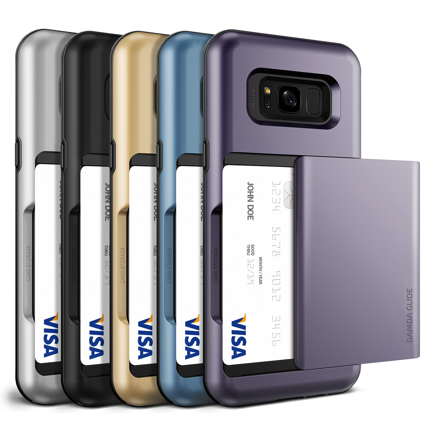Damda Glide Galaxy S8 cases from VRS Design