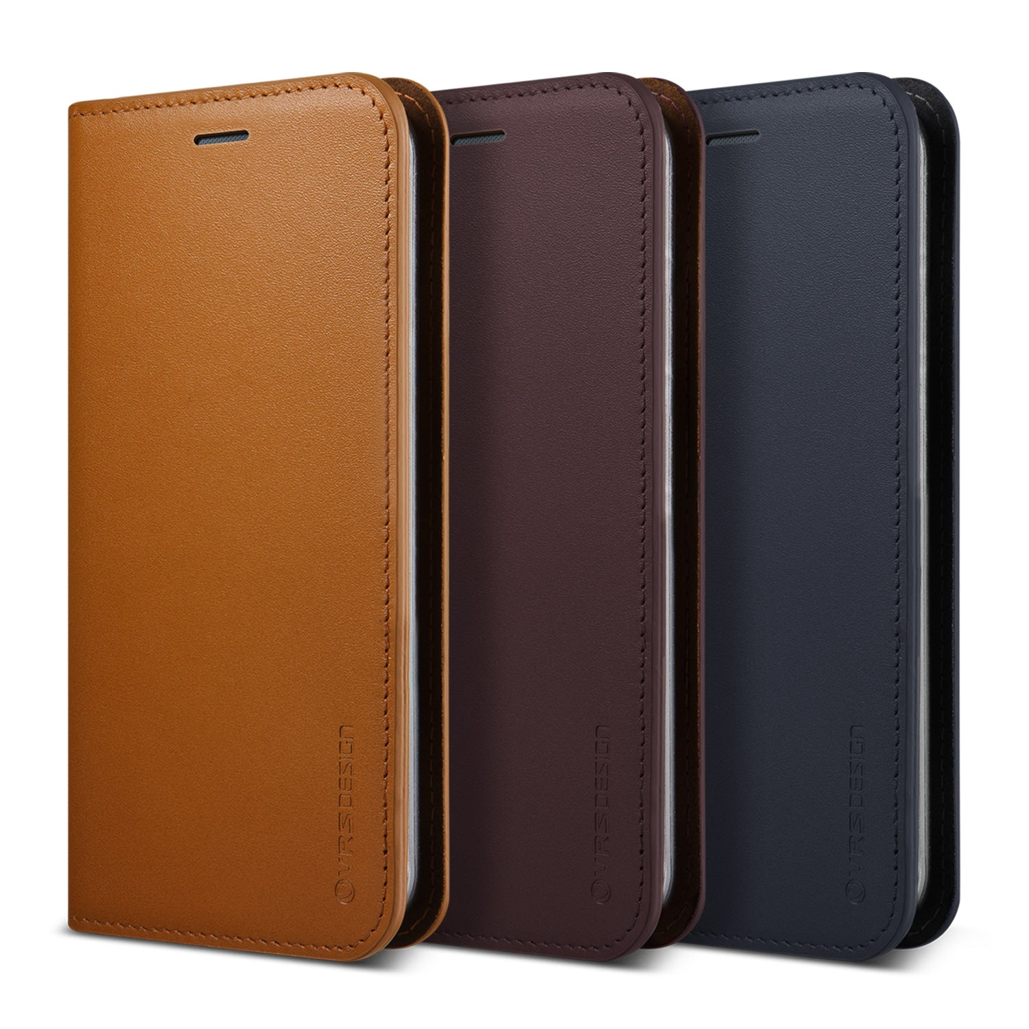 Genuine Leather Diary Galaxy S8 case from VRS Design
