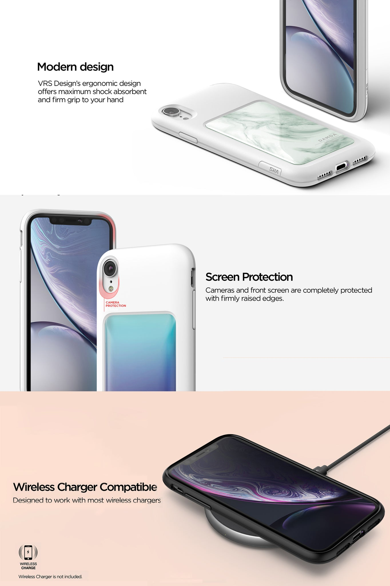 VRS Design | The Best Protection Case for iPhone XR - Damda High Pro Shield
