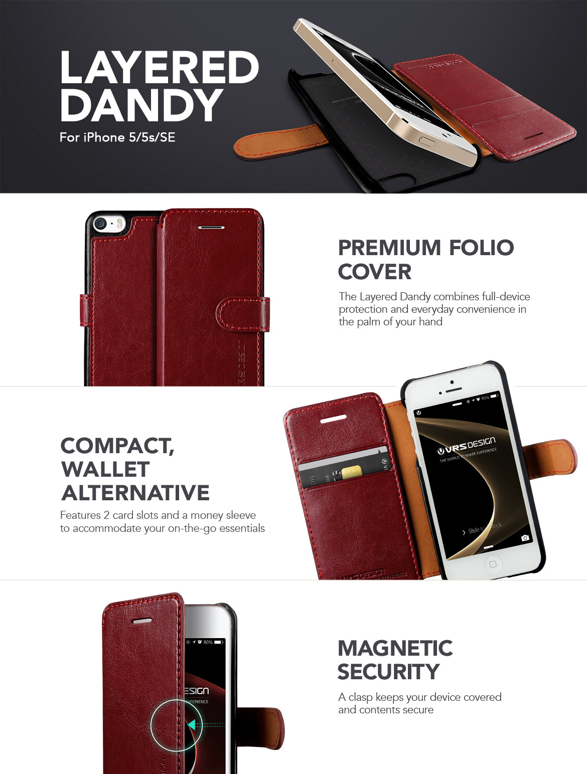 iPhone 5 / 5s / SE_Layered Dandy