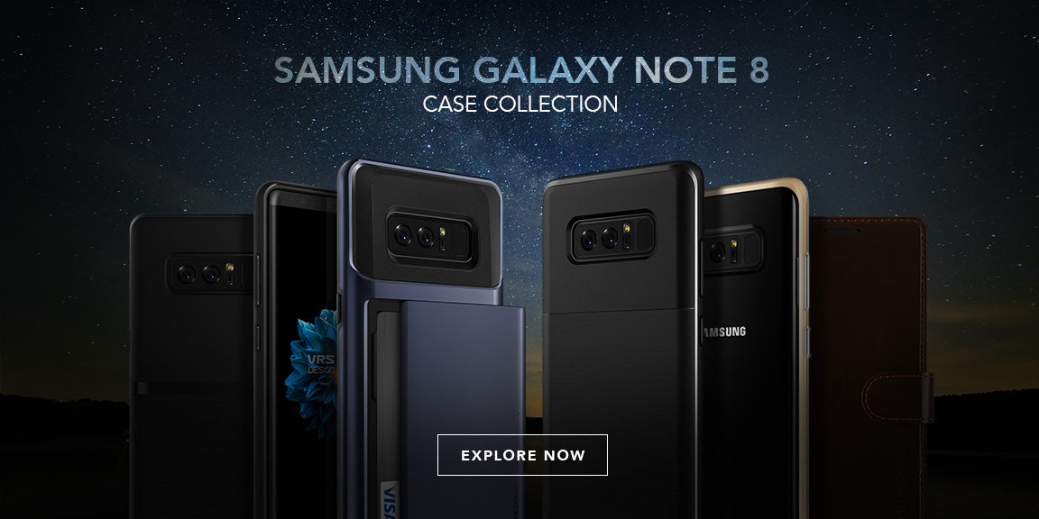 Best Samsung Galaxy Note S8 Cases from VRS Design
