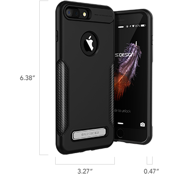 iPhone 7 Plus Carbon Fit Series Case