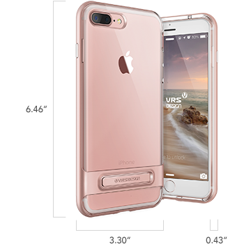 iPhone 7 Plus Crystal Bumper Series Case