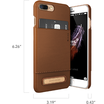 iPhone 7 Plus Simpli Leather Series Case