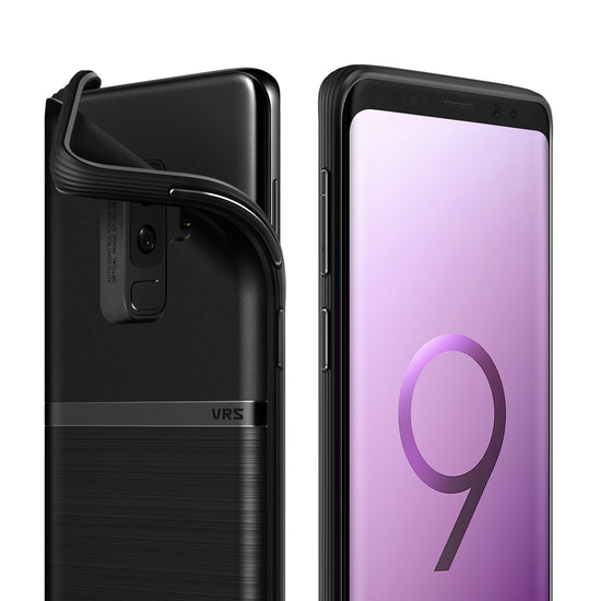 Galaxy S9 Plus Slim Case | VRS Design Single Fit Series - Black