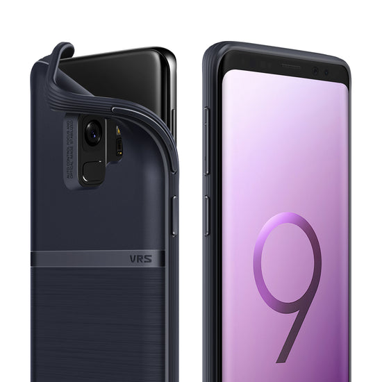 Galaxy S9 Slim Case | VRS Design Single Fit Series - Indigo