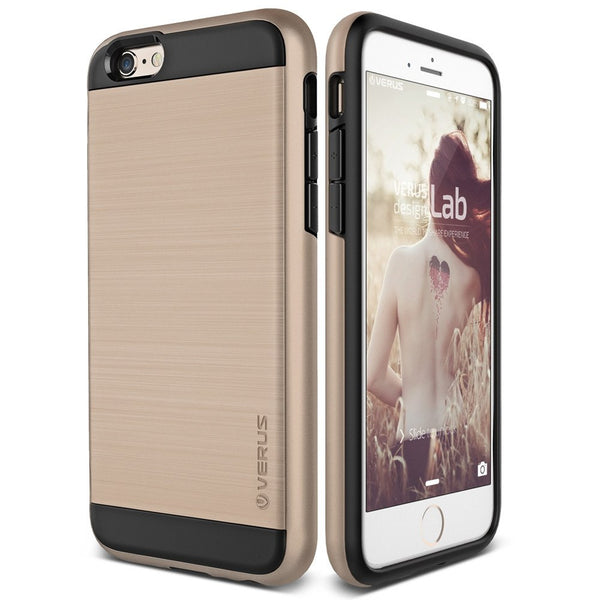 VRS Design [Verge Series] Apple iPhone 6/6s Plus Case - Champagne Gold - Main