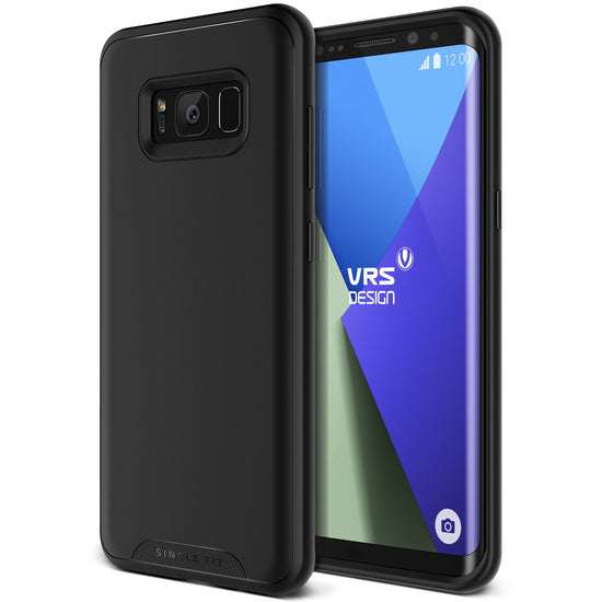 VRS Design | Single Fit Case for Galaxy S8 Plus - Phantom Black