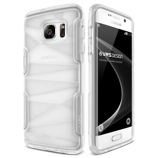 VRS Design [Shine Guard Series] Samsung Galaxy S7 Edge Case - Clear - Main