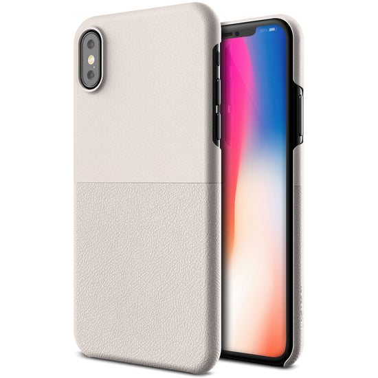VRS Design [Skin Fit Series] Apple iPhone X Case - Light Pebble - Main