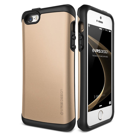 VRS Design [Thor Series] Apple iPhone 5/5s/SE Case - Champagne Gold