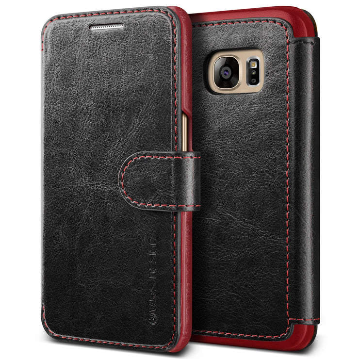 VRS Design [Layered Dandy Series] Samsung Galaxy S7 Case - Black