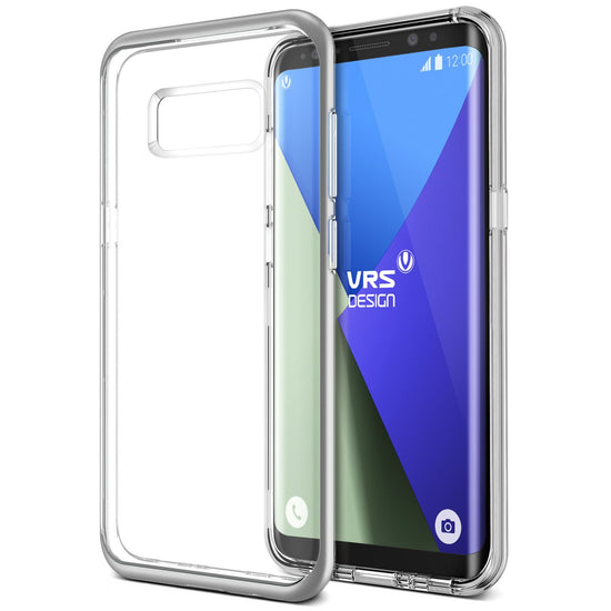 VRS Design | Crystal Bumper Case for Galaxy S8 Plus - Satin Silver