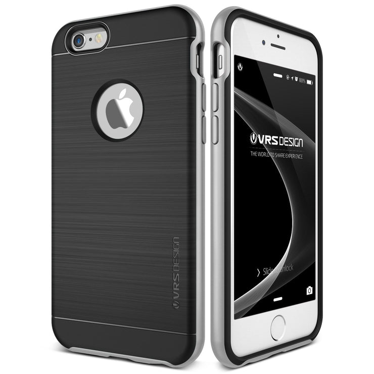 VRS Design [High Pro Shield Series] iPhone 6/6s Plus Case - Satin Silver