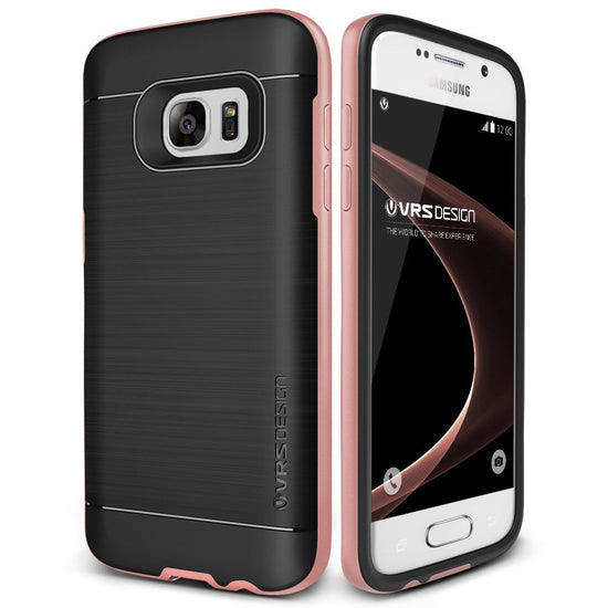 VRS Design [High Pro Shield Series] Samsung Galaxy S7 Case - Rose Gold
